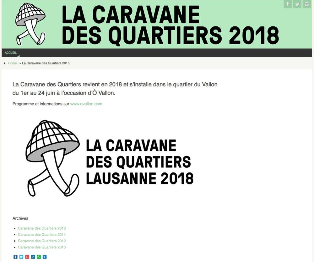 Caravane des Quartiers 2018
