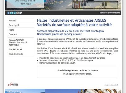 Halle Monaco Aigle