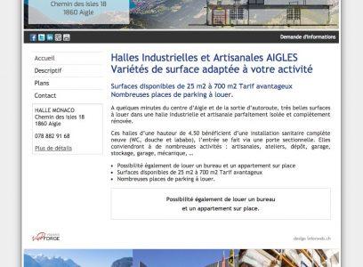Halles Industrielles et Artisanales AIGLES