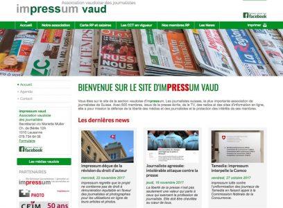 Impressum Vaud