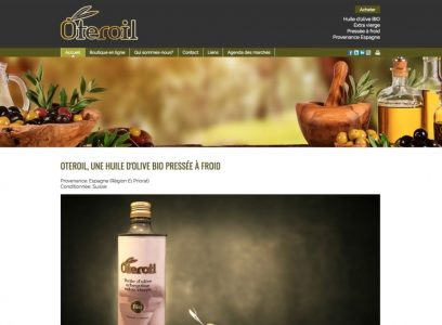Huile d'olive OTEROIL