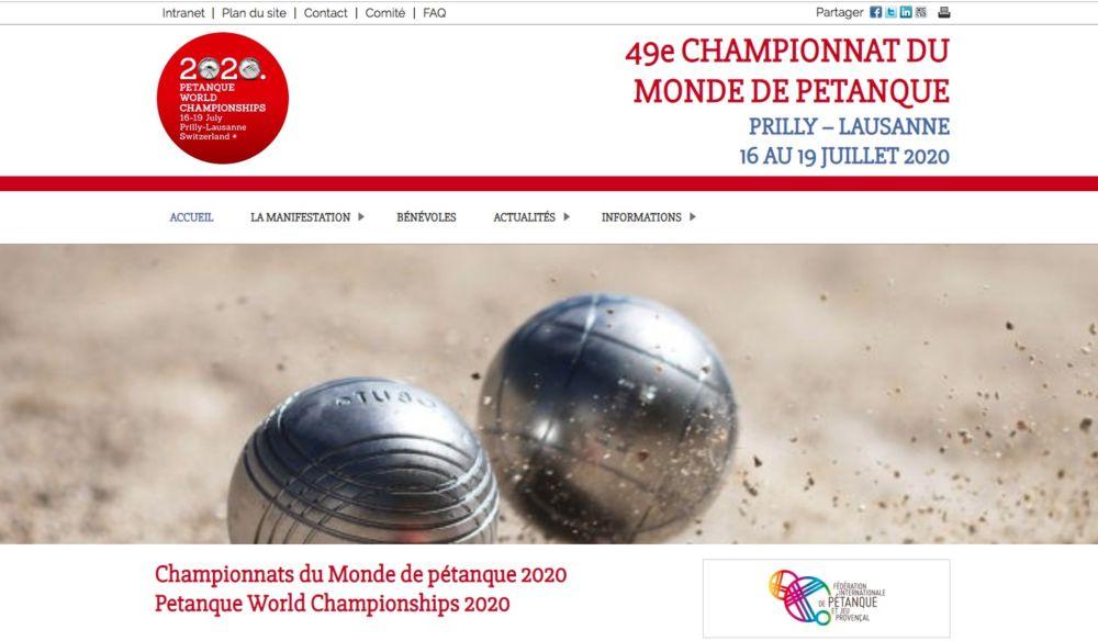 Championnat du Monde de Pétanque 2020