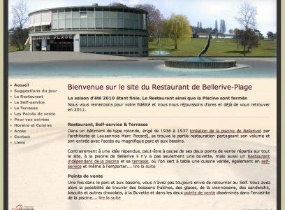 Restaurant Bellerive Plage