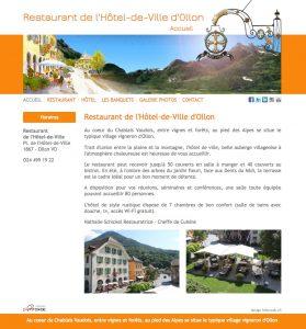 Hôtel Restaurant Ollon