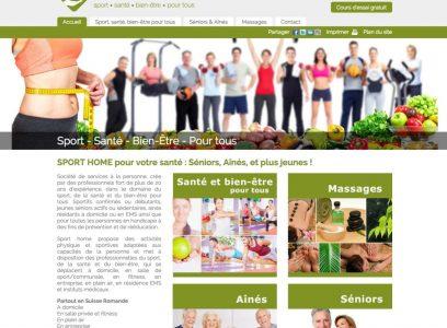 Sport Home, Santé bien être pour tous