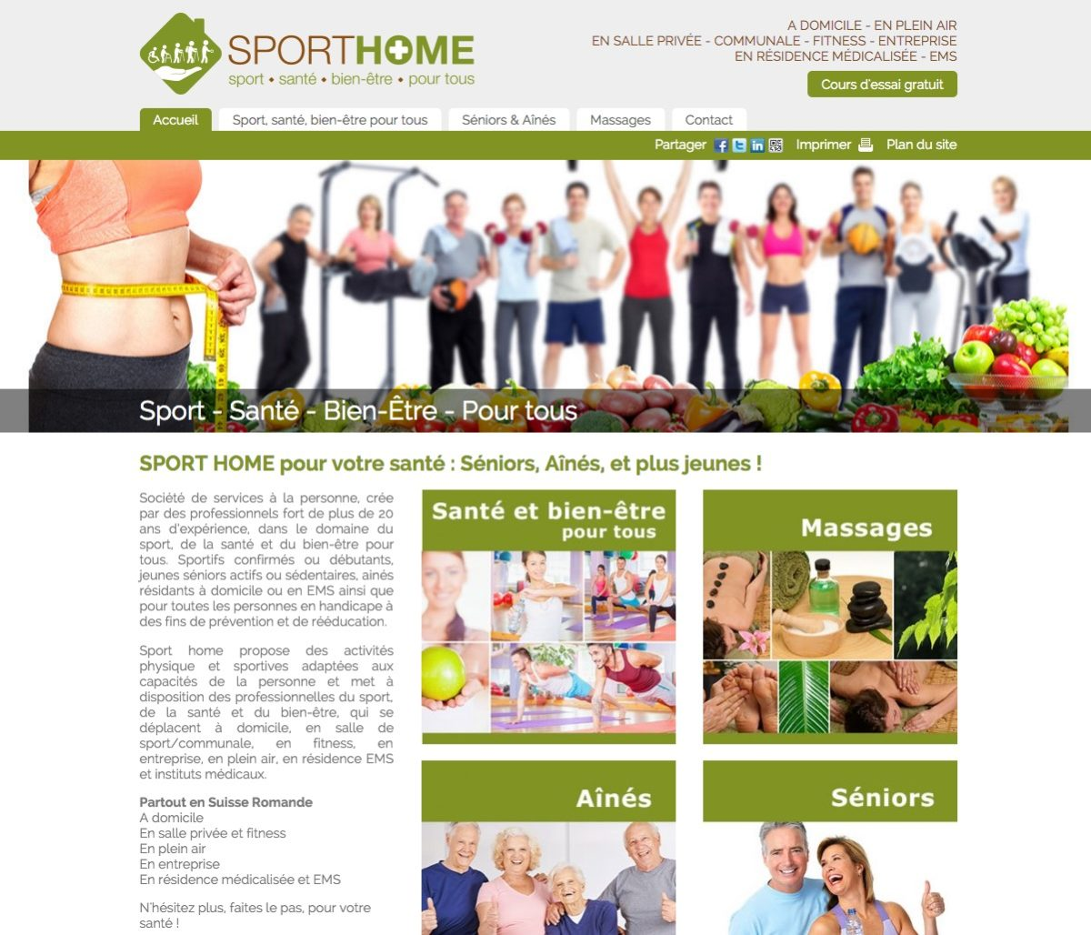 sport home sant bien tre pour tous. Black Bedroom Furniture Sets. Home Design Ideas