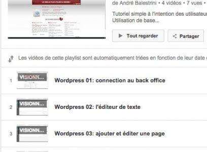 Tutoriels WordPress
