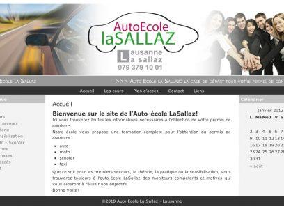 Auto Ecole La Sallaz
