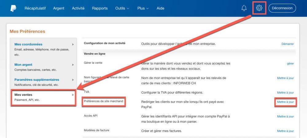 Paypal, ouverture de compte facultatif